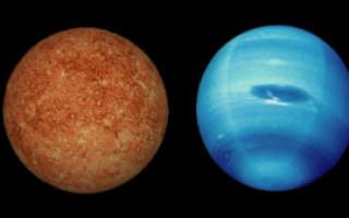 Значение и описание квадрата Меркурий-Нептун в натальной карте для мужчин и женщин