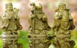 Значение символа три старца в философии фэн-шуй, правила использования статуэток