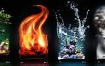 Руны огня, воздуха, земли, воды и других стихий у скандинавов и славян