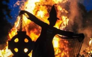 Кельтский праздник Самайн – обряды, ритуалы, история. Связанные с ним колдовские традиции ведьм.