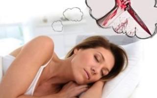 Что означает убийство ножом во сне – возможные толкования по соннику