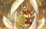 Шестикрылые серафимы – особая каста ангелов, приближенных к Богу