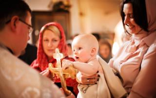 Приметы на крещение девочки, правила поведения во время обряда