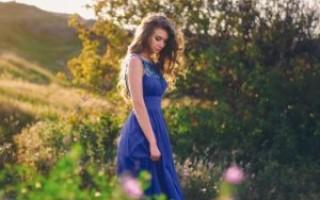 Что означает синее платье во сне – возможные толкования по соннику