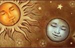 Значение и описание соединения Солнце-Луна в натальной карте для мужчин и женщин