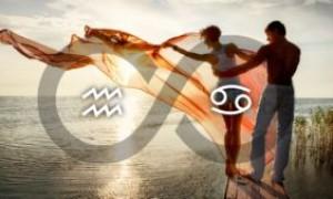 Гороскоп совместимости знаков зодиака Рак и Водолей – что ожидать от отношений в таком союзе