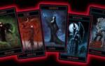 Готическое Таро и Таро вампиров – разновидности колод, галерея