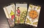 Гадание Таро «3 карты» – методика проведения и значение арканов